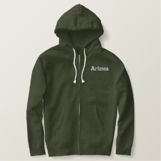 Arizona Embroidered Hoodie