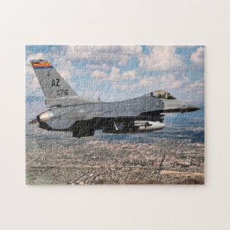 Arizona F16 Fighter. Jigsaw Puzzle