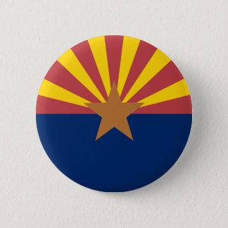 Arizona Flag 2 Inch Round Button