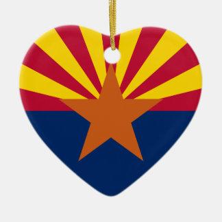 Arizona Flag Ceramic Ornament