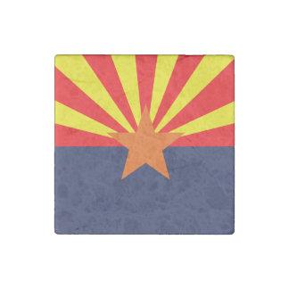 ARIZONA FLAG STONE MAGNET