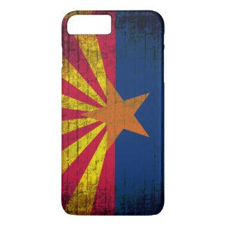 Arizona flag grunge brick wall iPhone 7 case
