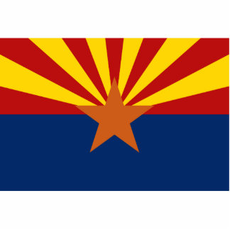 Arizona Flag Magnet Cut Out