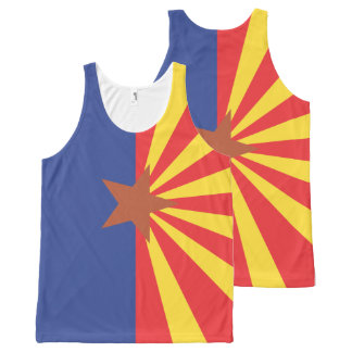 ARIZONA Flag Pattern -.png All-Over-Print Tank Top