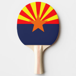 ARIZONA FLAG PING PONG PADDLE