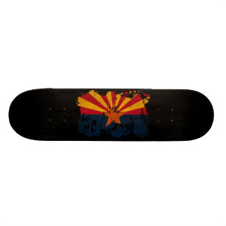 Arizona Flag Custom Skate Board