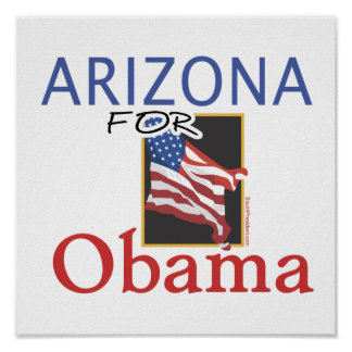 Arizona for Obama Election Posters