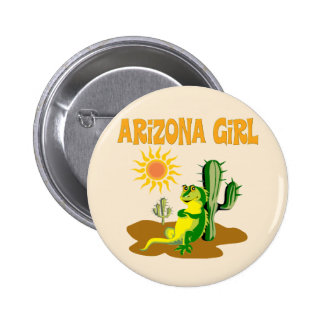 Arizona Girl 2 Inch Round Button