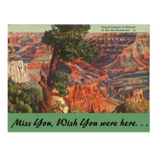 Arizona, Grand Canyon Postcard
