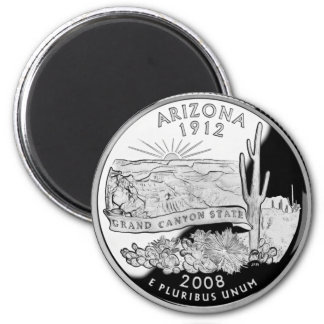 Arizona Grand Canyon Proof 2008 2 Inch Round Magnet