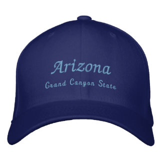 Arizona, Grand Canyon State Embroidered Hat