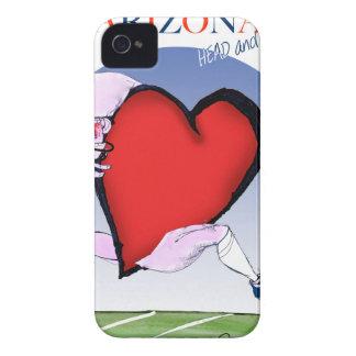arizona head heart, tony fernandes Case-Mate iPhone 4 case
