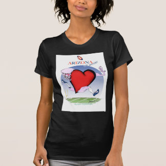 arizona head heart, tony fernandes T-Shirt