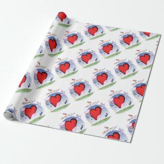 arizona head heart, tony fernandes wrapping paper
