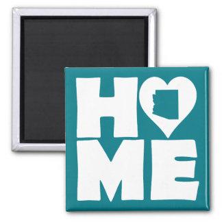 Arizona Home Heart State Fridge Magnet