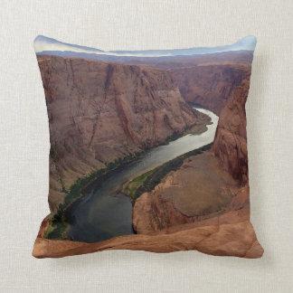 ARIZONA - Horseshoe Bend A - Red Rock Throw Pillow