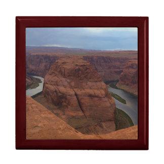 ARIZONA - Horseshoe Bend AB - Red Rock Keepsake Box