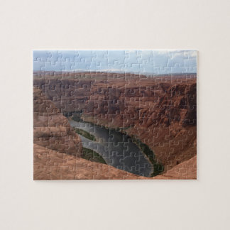 ARIZONA - Horseshoe Bend B - Red Rock Jigsaw Puzzle