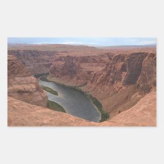 ARIZONA - Horseshoe Bend B - Red Rock Sticker