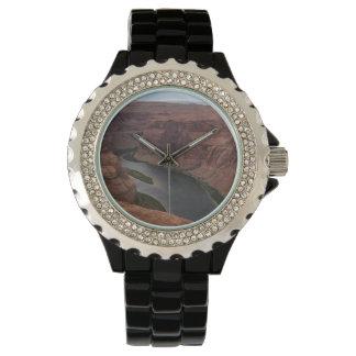 ARIZONA - Horseshoe Bend B - Red Rock Wrist Watches