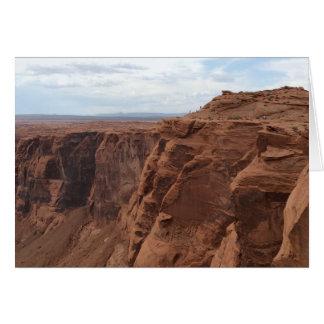 ARIZONA - Horseshoe Bend C - Red Rock Card
