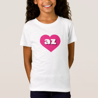 Arizona hot pink heart - mini love T-Shirt