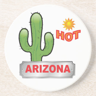 Arizona hot red coaster