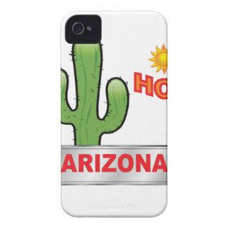 Arizona hot red iPhone 4 case