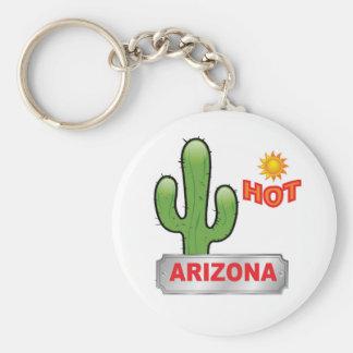 Arizona hot red keychain