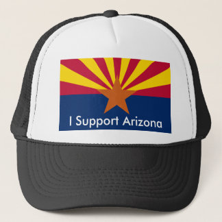 Arizona, I Support Arizona Trucker Hat