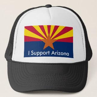 Arizona, I Support Arizona Trucker Hat