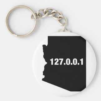 Arizona Is Home Programmer Basic Round Button Keychain