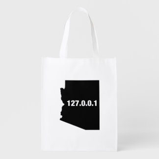 Arizona Is Home Programmer Grocery Bags