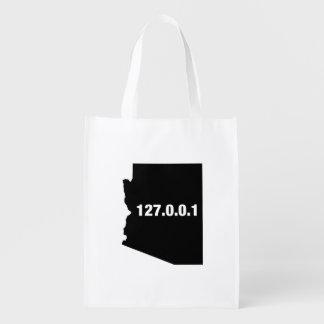 Arizona Is Home Programmer Reusable Grocery Bag