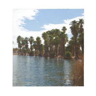 Arizona Lake Notepad