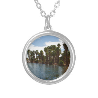 Arizona Lake Silver Plated Necklace