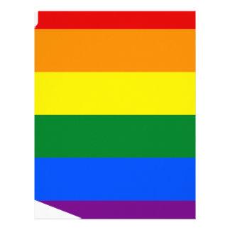 Arizona LGBT Flag Map Letterhead