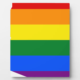 Arizona LGBT Flag Map Plaque
