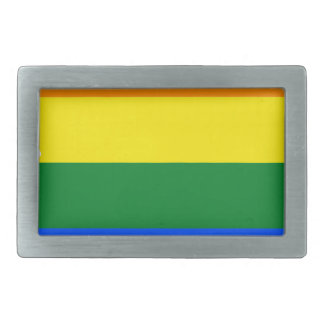 Arizona LGBT Flag Map Rectangular Belt Buckles