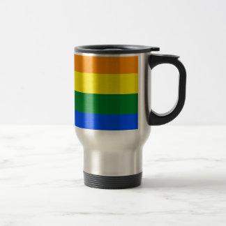 Arizona LGBT Flag Map Travel Mug