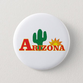 Arizona logo simple 2 inch round button