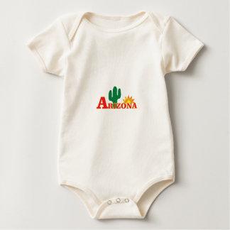 Arizona logo simple baby bodysuit