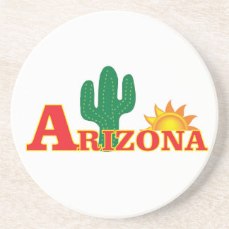 Arizona logo simple coaster