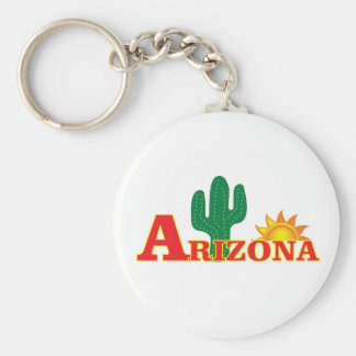 Arizona logo simple keychain