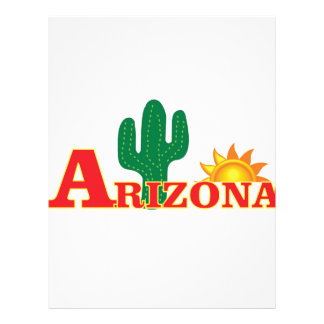 Arizona logo simple letterhead