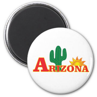 Arizona logo simple magnet