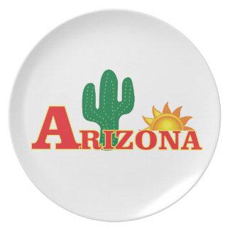 Arizona logo simple plate