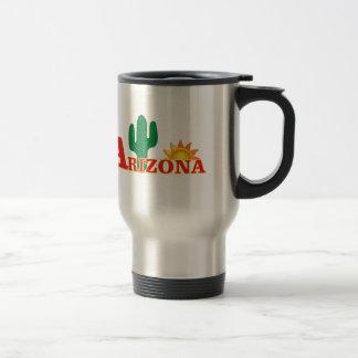 Arizona logo simple travel mug