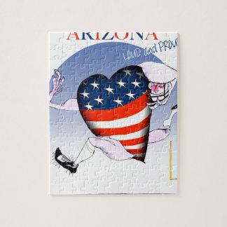 arizona loud and proud, tony fernandes jigsaw puzzle