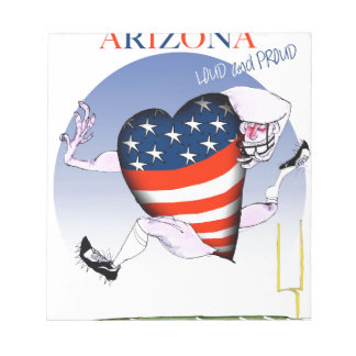 arizona loud and proud, tony fernandes notepads